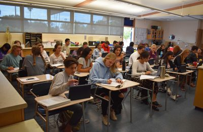 Signing up for a web-based Junior High School Academy